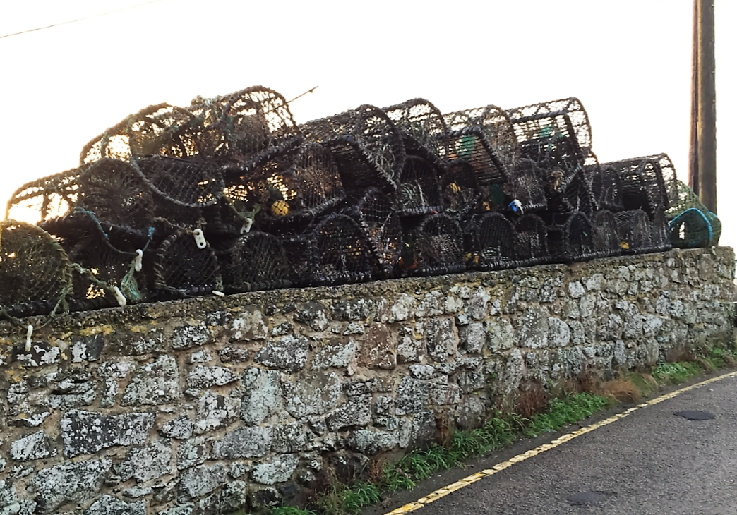 Cadgwith fishing gear