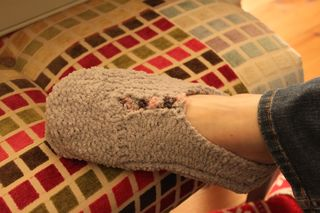 Woolly Knitted Socks