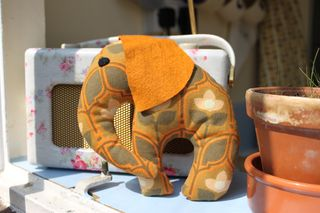 Cute Fabric Elephant