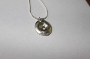 Button Pendent