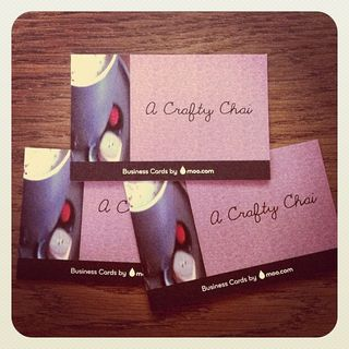 Crafty Chai Business Cards