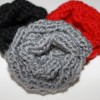Knitted Brooch