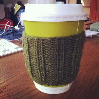 Crafty Chai Coffee Cosy