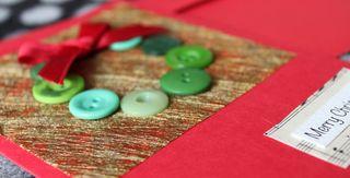 Crafty Chai Wreath Christmas Cards