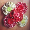 Suffolk Puff Brooches
