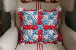 Cath Kidston Suffolk Puff Cushion