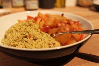 Chickpea & Roast Veg Tagine