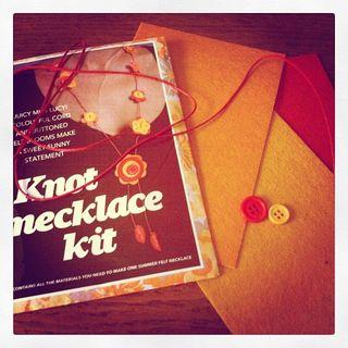 Knot Necklace kit