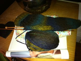 Knitting challenges