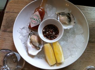 Oysters at the Rickety Press