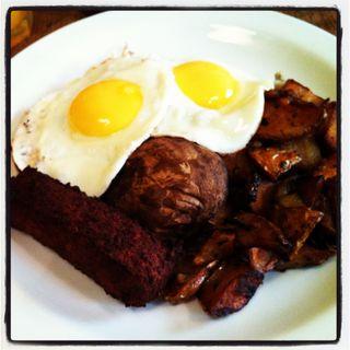 Breakfast Club Veggie Breakfast
