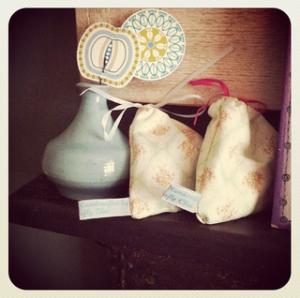 Vintage Lavender bags
