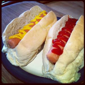 Quorn Hotdogs