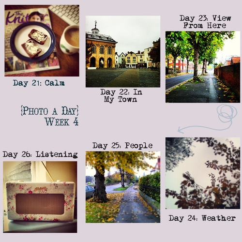 Photo a Day - week 4