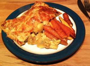 Cheese, Leek and Pot Pie