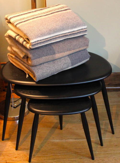 Blankets and tables
