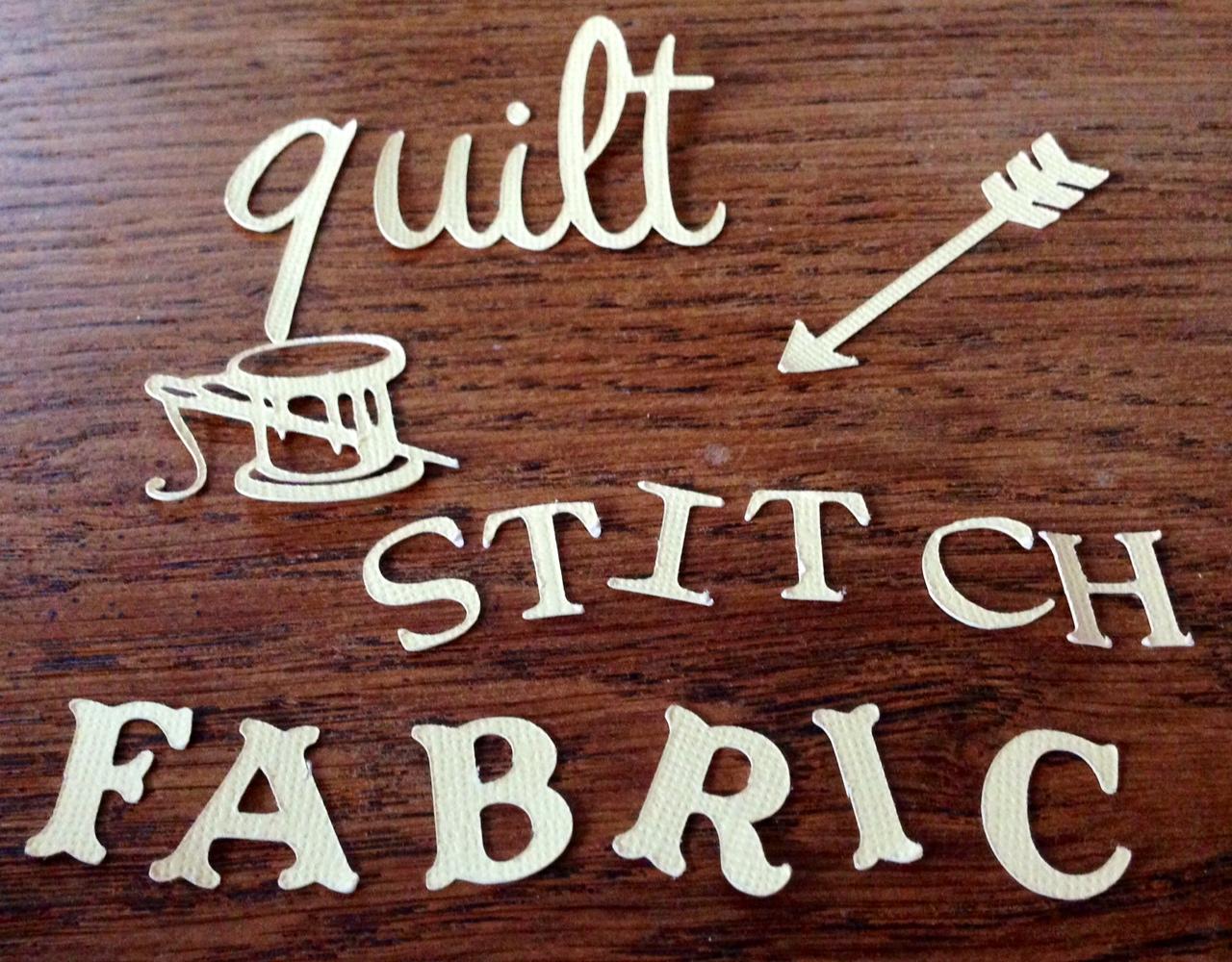 Cricut cut outs