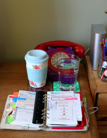 desk organisation
