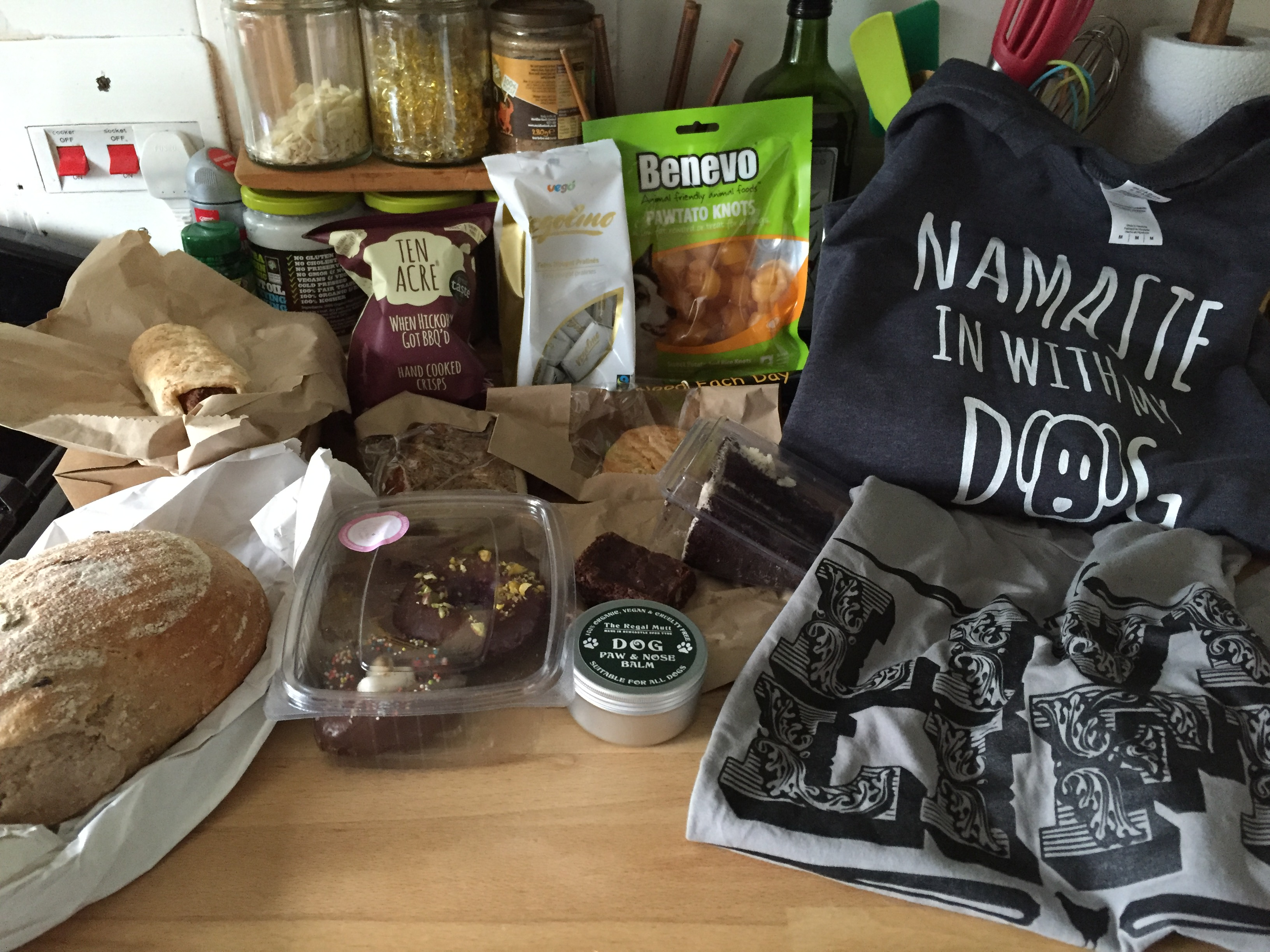 Bournemouth vegan fair haul