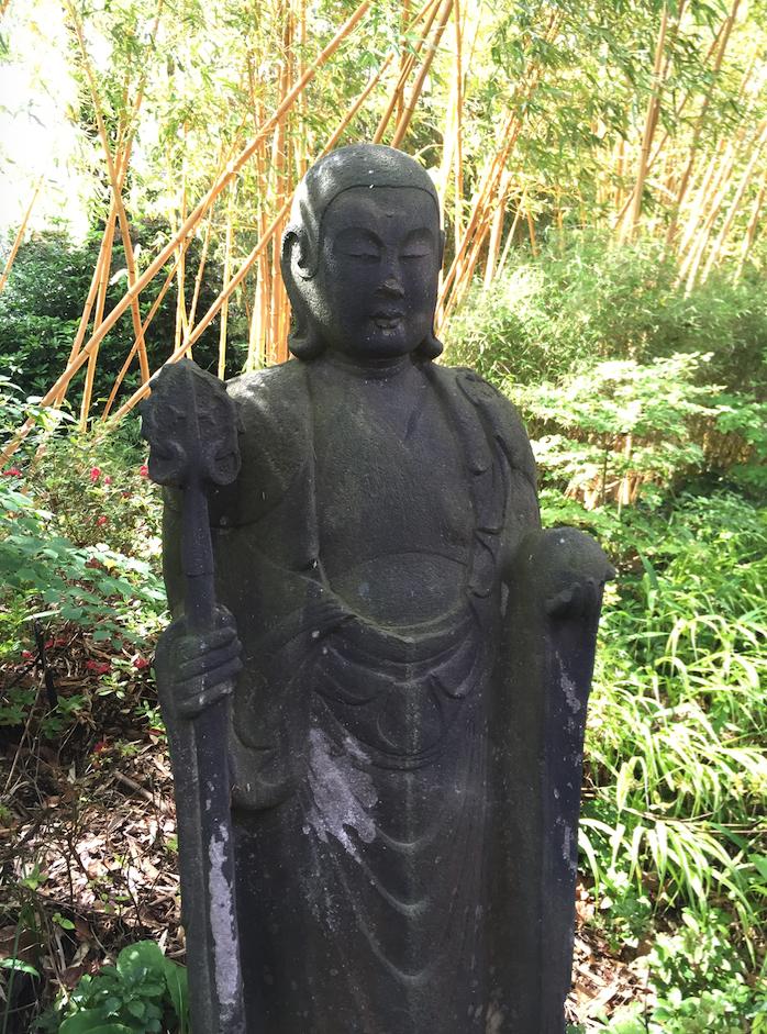 Buddha Statue at Compton Acres
