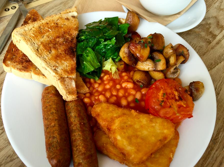 Cafe Kino breakfast