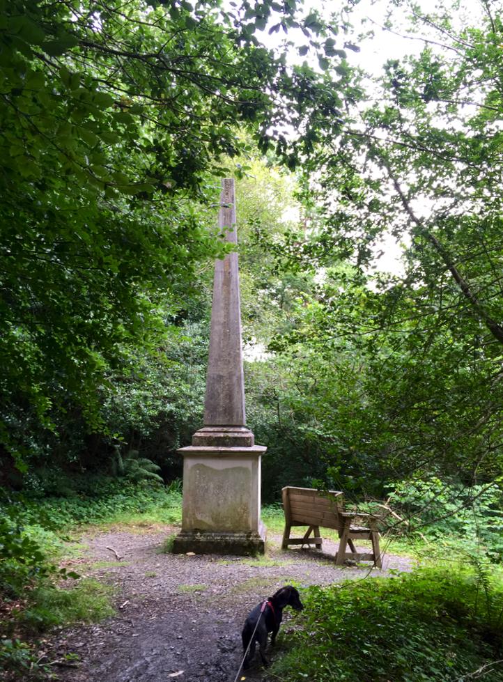 Colby obelisk