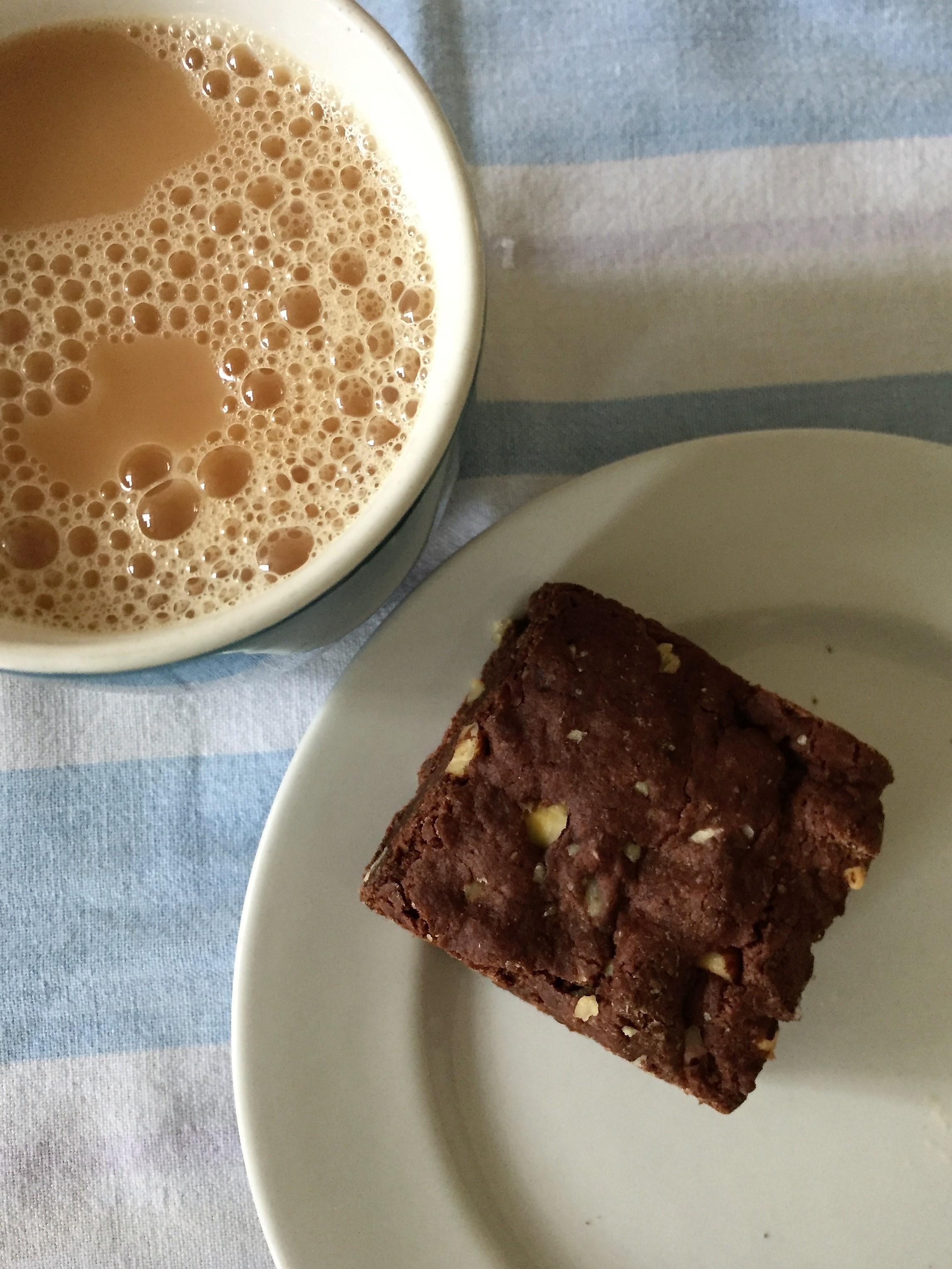 The Cornish vegan brownie