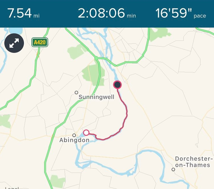 Abingdon to Sandford walk
