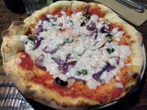 Zizzi Vegan Pizza
