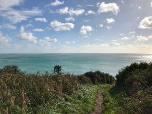 Cornish coast path