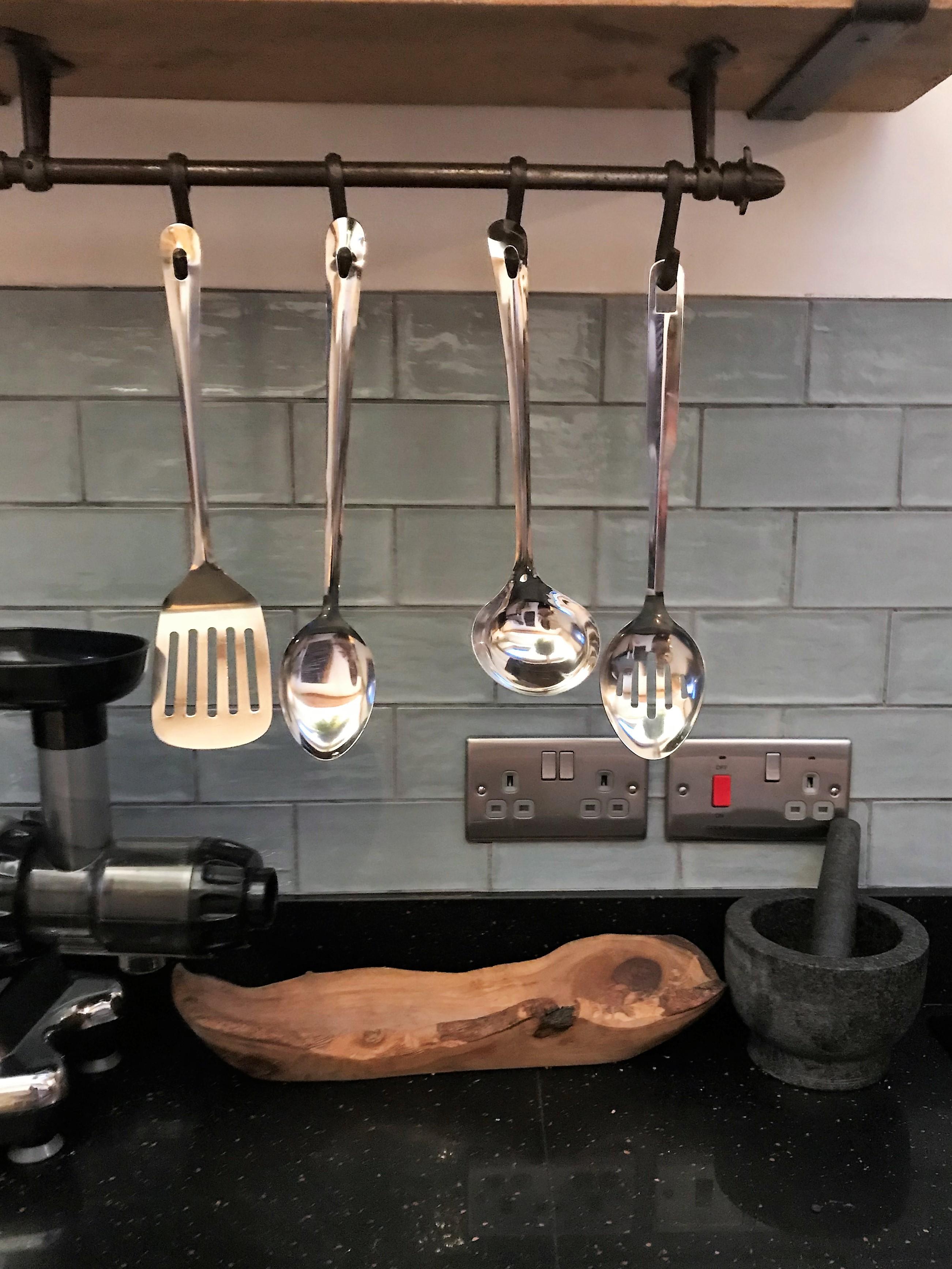 Mill House kitchen tiles